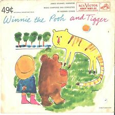 WINNIE the POOH and TIGGER--PICTURE SLEEVE ONLY---PS--PIC---SLV