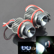 20W CREE LED Angel Eyes Halo Ring Marker Light White For BMW E39 E60 E61 E87