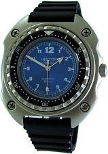 HEKTOR KOMMANDO Germany Herren Taucheruhr vintage design diver blau watch 20ATM