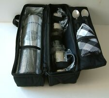 New Unused Harley-Davidson Roast 'N' Roll Thermos Coffee Set with Carrying Case