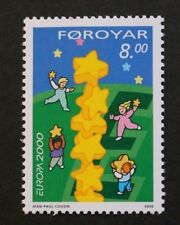 Europa stamp, 2000, Building Europe, Faroe Islands, SG ref: 393, MNH
