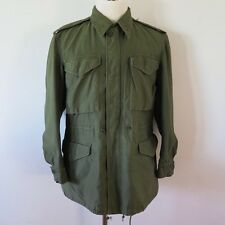 VINTAGE ORIGINAL US ARMY JACKET SHELL FIELD M-1951 M51 SMALL REGULAR 1955 TALON