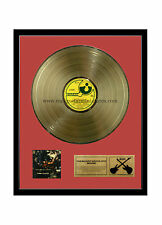 """RGM1044 Pink Floyd Obscured by Clouds Gold Disc 24K Plated LP 12"""""""