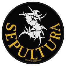 SEPULTURA - Patch Aufnäher - Circular logo 10x10cm