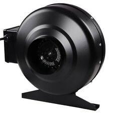"4"" Hydroponics Inline Duct Exhaust Fan Air Blower Cooling Vent HO 176CFM 2580RPM"