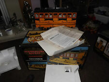 Hornby stephenson rocket coach G104 live steam engine loco mint utilisé une fois