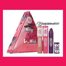 Soap and glory Merry Kiss Much - Lip Gloss christmas Gift Set/Stocking Filler