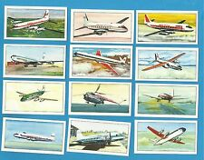 Cigarette/trade cards - INTERNATIONAL AIR LINERS - 1968 Mint condition set