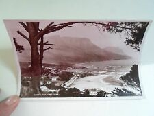 Vintage Real Photo Postcard CAMPS BAY, CAPE TOWN, SOUTH AFRICA Unposted