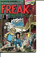 FABULOUS FURRY FREAK BROTHERS Collected Adventures 50c 1971 6th Print  Rip Off P