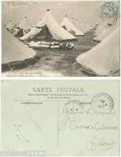 CPA War GUERRE 1914 Perspective à travers les Tentes Le CAMP DU RUCHARD [468 A]