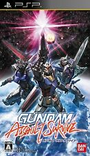 Used PSP Gundam Assault Survive  Japan Import ((Free shipping))