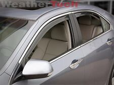 WeatherTech Side Window Deflectors for Acura TSX - 2009-2014 - Light Tint