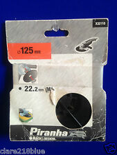 NeW Black & Decker Piranha X32110 Flexon Angle Grinder / Sander Plate 125 mm M14