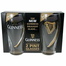 The **NEW** Guinness Draught Glass (2 Pint Glasses)