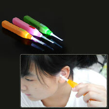 3X Earpick Flashlight Handle Safe LED Ear Cleaner Earwax Remover Tool Earpick