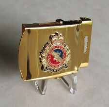 Canadian Armed Forces - 2 Service Battalion - Brass Gold Plated Belt Buckle