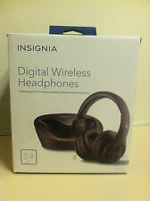INSIGNIA Black Digital Wireless Headphones for TV
