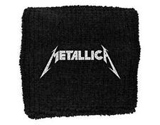 OFFICIAL LICENSED - METALLICA - LOGO SWEATBAND/WRISTBAND METAL HETFIELD