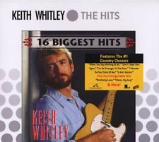 KEITH WHITLEY CD - 16 BIGGEST HITS (2006) - NEW UNOPENED - COUNTRY