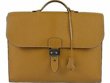 HERMES Sac A Depeche Business Bag Briefcase mens  □J 100% Auth From Japan