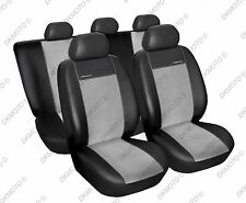 Tailored car seat covers VOLKSWAGEN CADDY  2004 - 2010 Leatherette + Alcantara