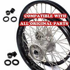HONDA CASTING MX COMPLETE WHEELS RIMS SET FOR CRF250R 04-13 CRF450R 02-12 21/19