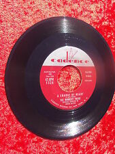 THE BOBBSEY TWINS, A CHANGE OF HEART & PART TIME GAL CADENCE RECORDS 45