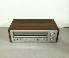 Vintage Wood Grain Technics FM/AM Stereo Receiver SA-202