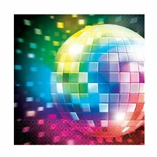 70's Disco Fever Party Themed Paper Table Napkins Napkin Decoration - 511222