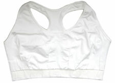 Adidas Adishe Surfinia 2XL White Climacool Impact Level 3 Seamless Sports Bra P4