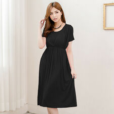 NEW Fashion Nursing Dress Breastfeeding Clothes Maternity Dresses European Style
