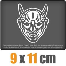 Diable 9 x 11 cm JDM Sticker étiquette Course Die Cut
