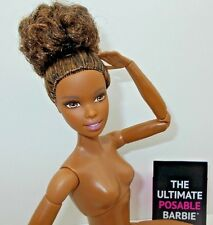 Barbie NUDE Made to Move AA Asha Articulated Ultimate Posable Doll For OOAK