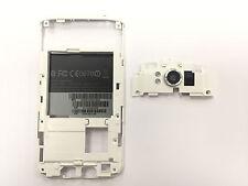 Original Htc Sensation XL G21 Mittelrahmen Middleframe Kamera Glas Rahmen Weiß