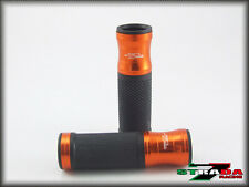 Ducati Hypermotard 796 Strada 7 Racing CNC Hand Grips Orange