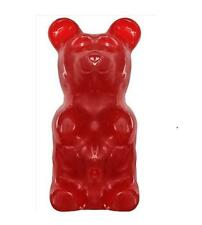 NEW Giant Gummy Bear Worlds Largest 5 Pound LBS Cherry Flavored Gummi Big Candy