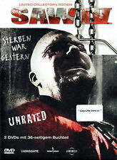 SAW 4 - Mediabook & X2 Dvds - Limited Unrated Edition -