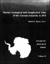 Marine Geological and Geophysical Atlas of the Circum-Antarctic to 30 -ExLibrary