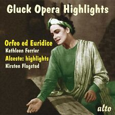 CD GLUCK OPERA HIGHLIGHTS ORFEO ED EURIDICE FERRIER ALCESTE HUIGHLIGHTS FLAGSTAD