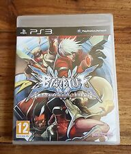 BLAZBLUE CONTINUUM SHIFT Jeu Sur Sony PS3 Playstation 3 Neuf Sous Blister VF