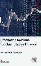 Stochastic Calculus For Quantitative Finance Gushchin  Alexander A. 978178548034