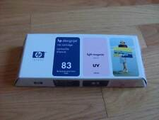 2015 GENUINE HP #83 Lt MAGENTA UV CARTRIDGE C4945A DESIGNJET 5000 5500 NEW SEAL