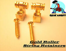 Gold Roller String Tree Retainers 2pcs.