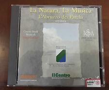 CD MUSICALE LA NATURA LA MUSICA L'ABRUZZO DEI PARCHI - CD ROM PER PC INTERATTIVO