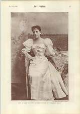1893 Miss Maude Millet Seated Pose St Andrews Part 1