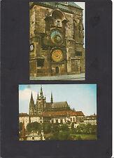 2 Ansichtskarten von Prag aus den 60 er Jahren