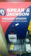 NEW Spear And Jackson Pump Sprayer Garden Action Pressure Plant Spray Bottle 5 L