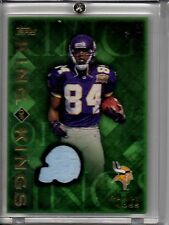 """2001 Topps """"King of Kings"""" Game Used Jersey RANDY MOSS"""