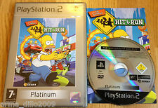 THE SIMPSONS HIT & AND RUN PS2 & (60GB VERSION OF PS3 ONLY) COMPLETE